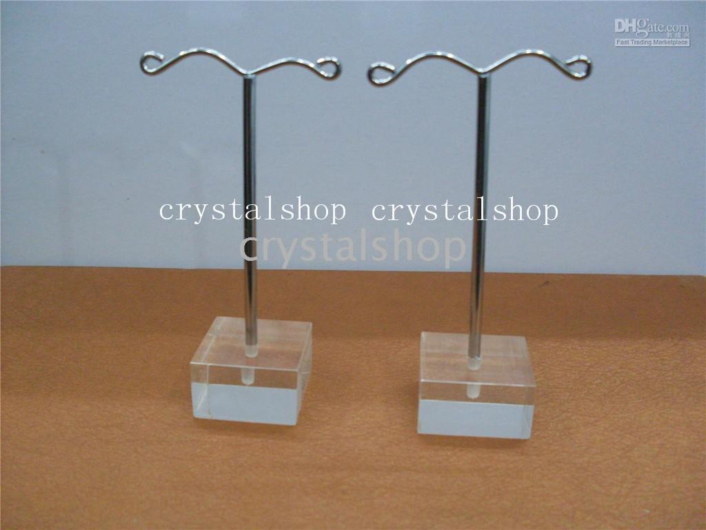 Earring acrylic earring holder - crystal Metal Earring Display Holder Stand Trees Jewellery