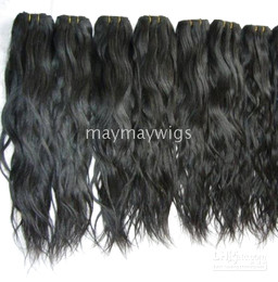 Wholesale 22 quot indian hair weave hair weft hair extensions human hair colour b natural wave big curl