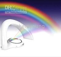 Wholesale rainbow in my room projector LED light night lamp christmas light