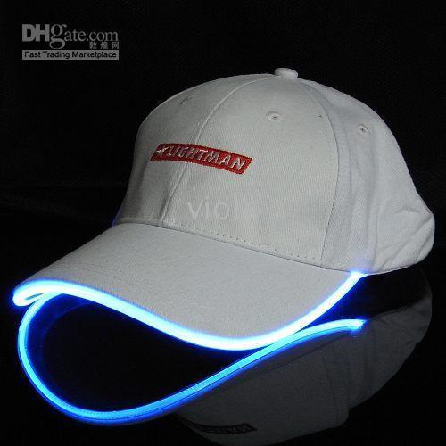 led baseball hat light up glow hats sport hats summer hats