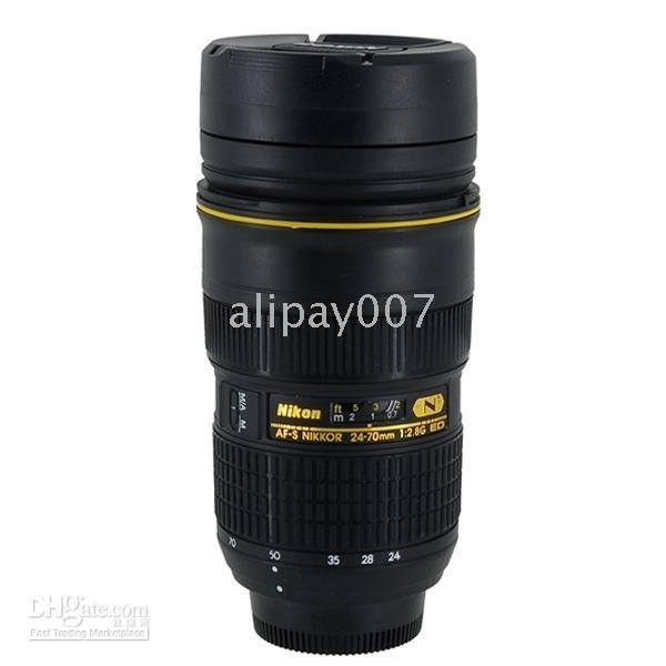 Wholesale 1pcs Nikon Lens AF S mm F Thermos Mug Cup D300 D700 shop to Worldwide