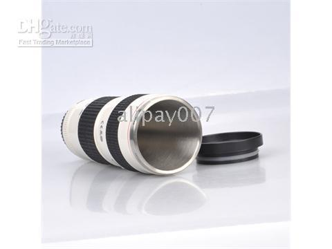 Wholesale 4pcs Canon EF mm IS Lens L Series Thermos Mug Cup Canon EF mm Lens Coffee Mug