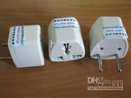 20pcs EU standard power adaptor European power adaptor EU turns to U.S UK DE power adaptor