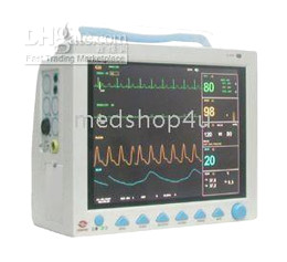 Wholesale New ICU Patient Monitor ECG NIBP PR Spo2 Temp Resp Color TFT Display with optional printer