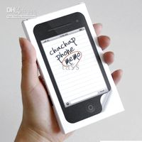Wholesale Post it Sticky Memo Chachap Phone Memo Pad