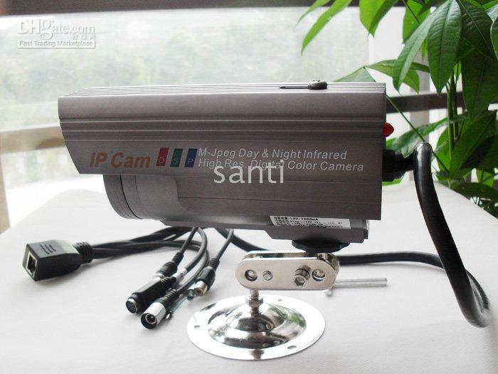 Wholesale Outdoor IP Camera waterproof Wifi Night vision network cam with Audio Wireless Led IR infrared pc