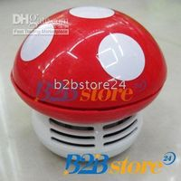 Wholesale Mini Desktop Vacuum Cleaner Cute Mushroom Style Brand New YA788
