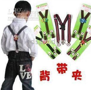 Wholesale top quality kids childrens girls suspenders boys straps pants braces trousers braces