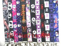 Wholesale Hot The nightmare before christmas Neck Lanyard for MP3 cell phone DS lite