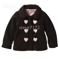 Wholesale girls coats outerwear blouse tops sweaters smock jackets baby coat hoodies surcoat greatcoats CL785