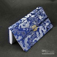 Wholesale Silk Fabric Diary amp Notebook Top grade China style Color Gift Diary Journal Notebook mix order