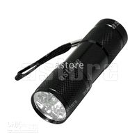 Wholesale 10 Brand new LED Pocket Torch Flashlight Camping Light Lamp AAA