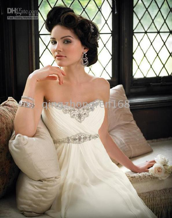 Reference Images 2010 wedding dresses - 2010 Fine New Wedding Dress Strapless Wedding Dresses Gown Size custom