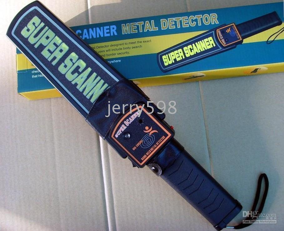 Wholesale Garrett High Sensitivity Super Scanner Hand Held Gold Metal Detector For Security Detectors High quality model MD B1