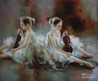 100% handmade art oil paintings Museum Quality Art oil paint...