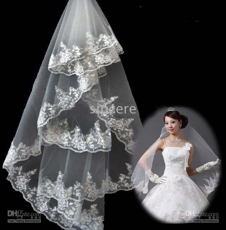 Where to buy cream wedding veils online can i