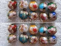 Wholesale OMH jewelry fashion cloisonne beads Chinese characteristics bead mm
