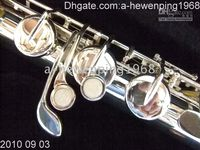 Wholesale Sliver Great big tenor bass flute instruments AAA