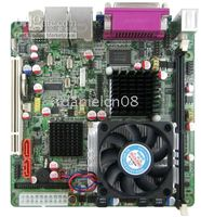 Wholesale Intel GT mini itx motherboard onboard xeon Dual core Ghz CPU support LVDS VGA