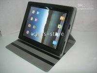 Wholesale New Leather Skin Cases Cover for iPad Protable Vehicle mounted type
