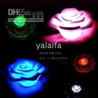 Wholesale BRAND NEW Magic LED rose lights led gift wedding gift from quot yalaifa quot