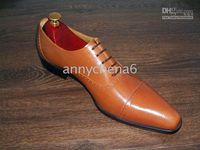 Men Dress shoes Oxfords shoes Men' s shoes Genuine calf ...