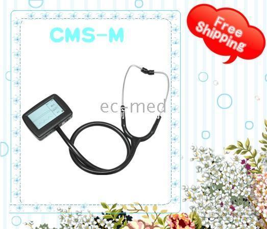 Wholesale Hot Multi Function Electronic Stethoscope ECG spo2 probe CMS M CE certification