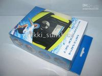 Wholesale Waterproof Case Skin Dry Bag Pouch with armband earphone for ipod Nano Touch Suffle MP3