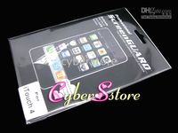 Wholesale 100pcs LCD Screen Guard Protector for Apple iPod Touch th Generation