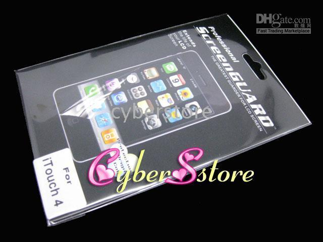 Wholesale For Apple iPod Touch th LCD Protector Protective Film Guard Screen Guard Protector for Apple iPod Touch th Generation