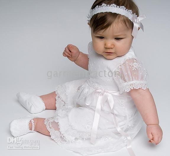 Cheap Dresses Baby White Baptism  Free Shipping Dresses Baby ...