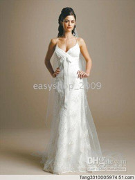 Wholesale Embroidered white dress size Informal Wedding Dresses Bridal Gown