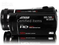Wholesale HD Camcorder Digital Video Camera HD50Z inch LCD MP x optical Zoom Pantalla Ancha Li battery