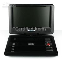 Wholesale EVD PLAY INCH Mini Portable DVD Player rotatable screen for Mobile DVD VCD TV card reader
