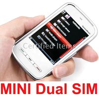 Wholesale mini Touch screen PDA phone unlocked dual Sim dual standby KA09 quad band
