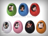 Wholesale 10pcs inch Roly Poly digital photo frame colors play photo pictures JPEG BMP format