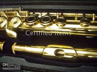 Wholesale New Arrival Advanced Gold C KEY flute With hard case