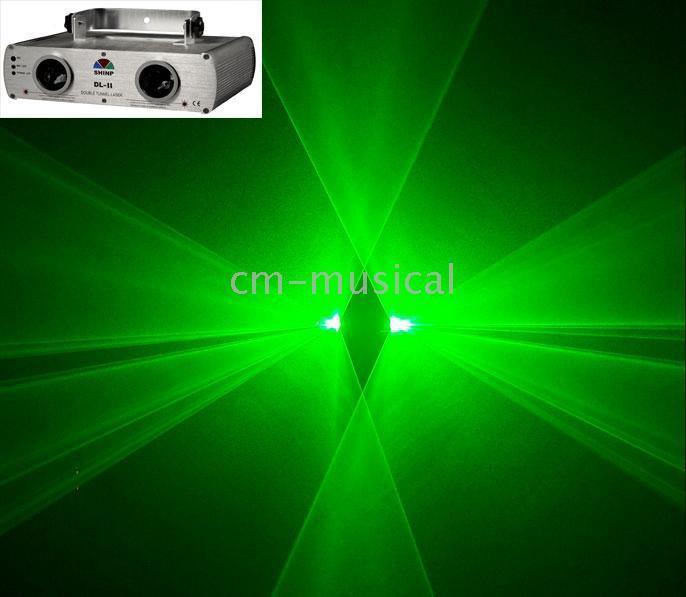 Wholesale SHINP DL Double Green Purple DPSS Laser Light
