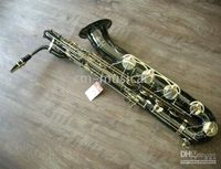 Wholesale Black Nickel Baritone Saxophone