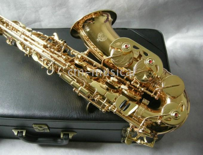 Wholesale Gold Alto Saxophone Woodwind bE Saxophone
