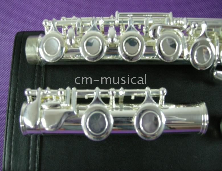 Wholesale best selling S Silver Flutes C Key hole Flutes