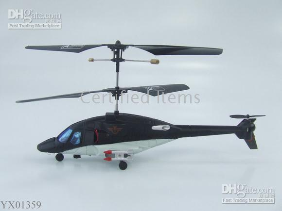 Wholesale 2CH RC Helicopter Infrared Air Wolf Co Axle RTF Palm Size radio remote control Helicopters Mini toys