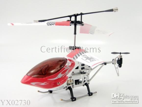 Wholesale 3 Channels RC Helicopter Remote Control alloy Radio Control Airplanes indoor toys