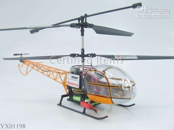 Wholesale 3 Channel RC Helicopter R C Ready to Fly Lama Radio Remote Control Helicopters toys
