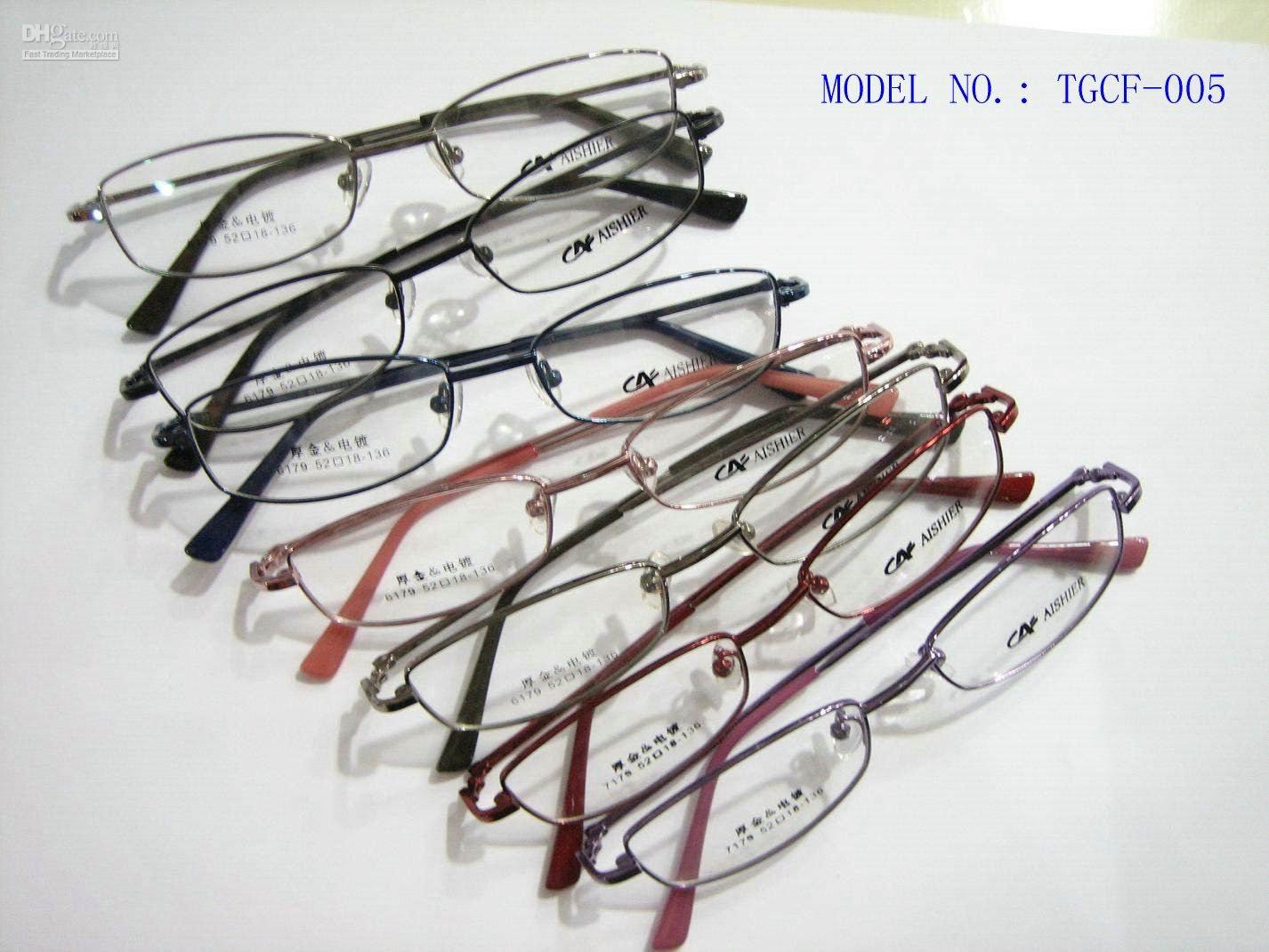 name brand eyeglasses - Fashion Thick gold cupronickel frame designer optical frame brand name eyeglasses frame discount