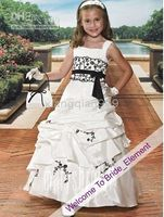 Cheap be customized) 07 2010 Custom-Made in China flower girl dress any colour size iu8