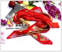 Cheap Wholesale -Large square silk scarf shawl Crepe Satin Plain silk scarf shawls 100% silk fd5