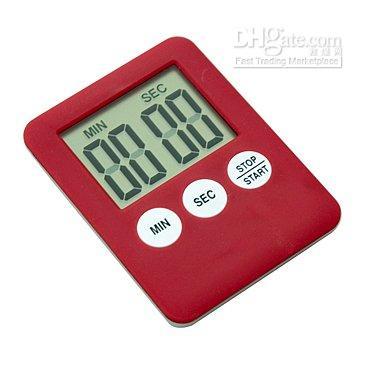 al por mayor lcd 59-Digital 99 M 59 S cuenta atrás / contar hasta temporizador de cocina temporizador LCD temporizador digital contador CALIENTE!