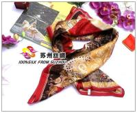 Cheap Wholesale -Large square silk scarf shawl Crepe Satin Plain silk scarf shawls g56