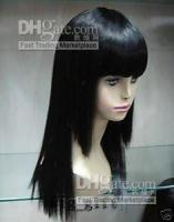 Wholesale new style vogue Straight women hair wig Kostme Top AAAA quality Escrow accepted